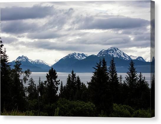 Early Morning Alaska Canvas Print