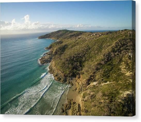 Early Morning Coastal Views On Moreton Island Canvas Print