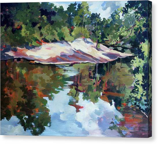 Early Morning Creekside Alabama Canvas Print