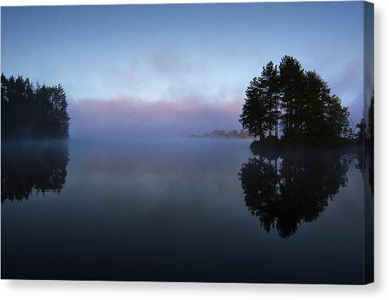Early Morning Lake Nimisila Canvas Print