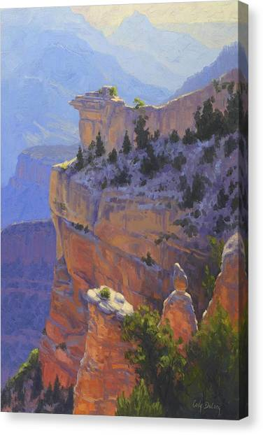Canyon Canvas Print - Early Morning Light by Cody DeLong