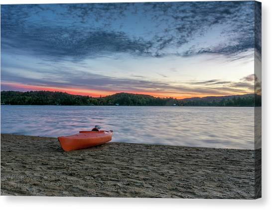 Early Morning On Oxtongue Lake Canvas Print