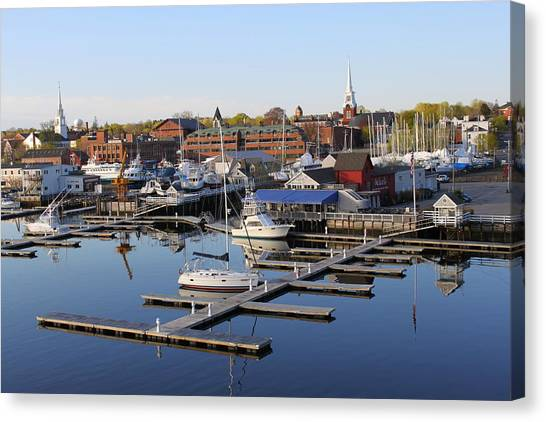 Early Morning On The Merrimack River Canvas Print