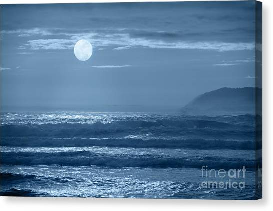 Early  Morning Splendor Canvas Print