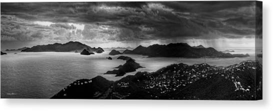 Early Morning Squalls Canvas Print