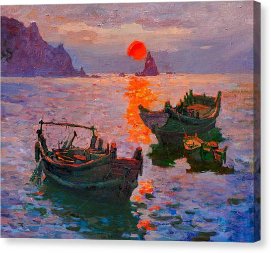 Early Morning Canvas Print by Xichang Sun