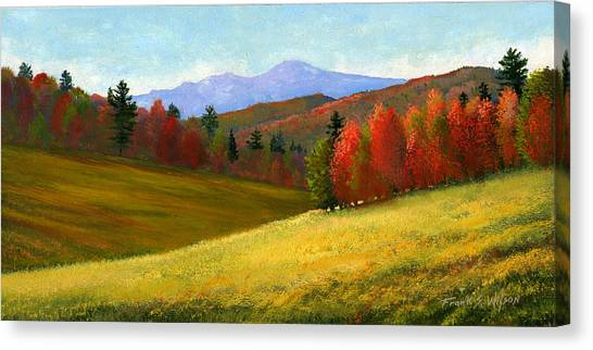 Vermont Canvas Print - Early October by Frank Wilson