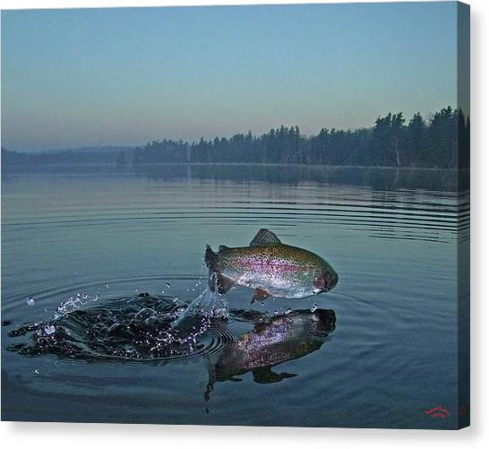 Early Riser Canvas Print by Brian Pelkey