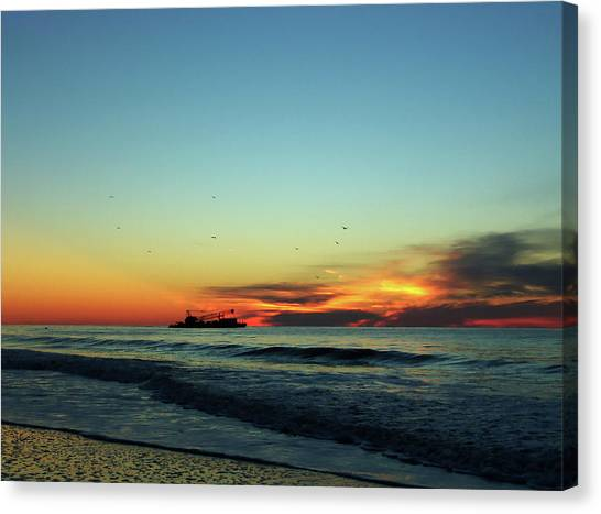 Early Start  Canvas Print