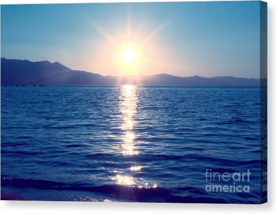 Early Sunset Canvas Print