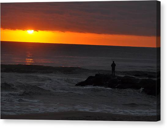 Early To Rise Canvas Print