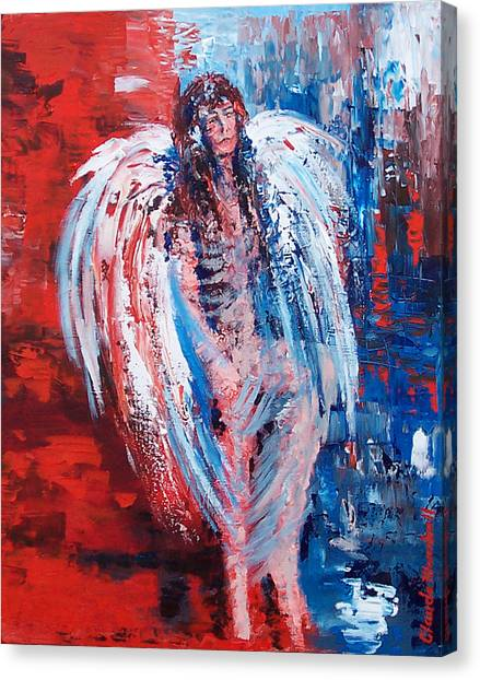 Earth Angel Canvas Print by Claude Marshall