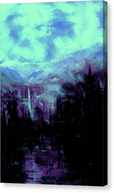Earth Light Series Nocturne Canvas Print