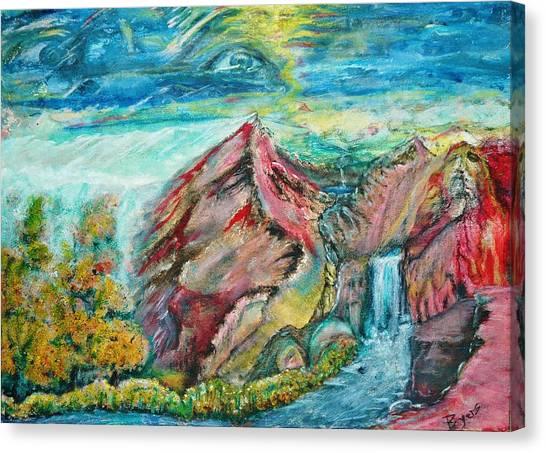 Earth Rising Canvas Print