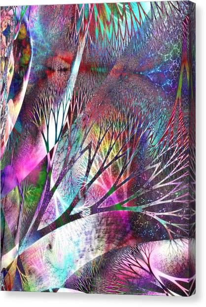 Earth Song 7 Canvas Print by Helene Kippert
