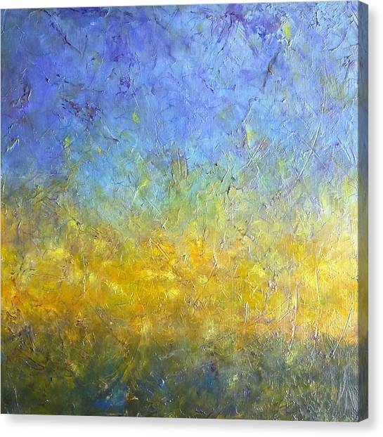 Earth Vibration Canvas Print