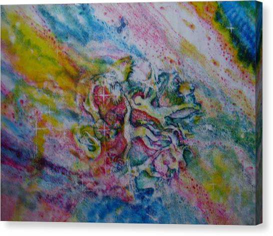 Earthbound Canvas Print by Chua Jeen Tee