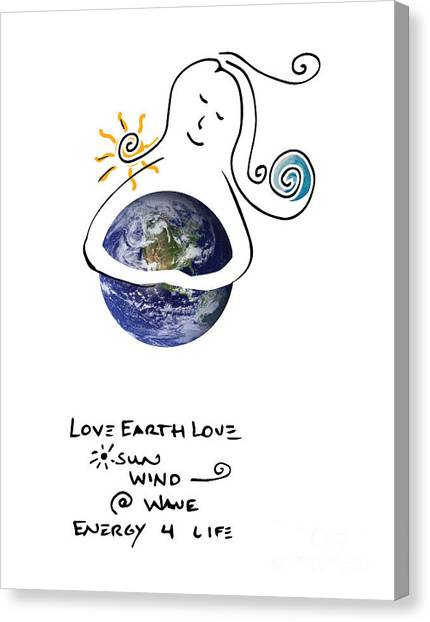 Earthhugger Canvas Print