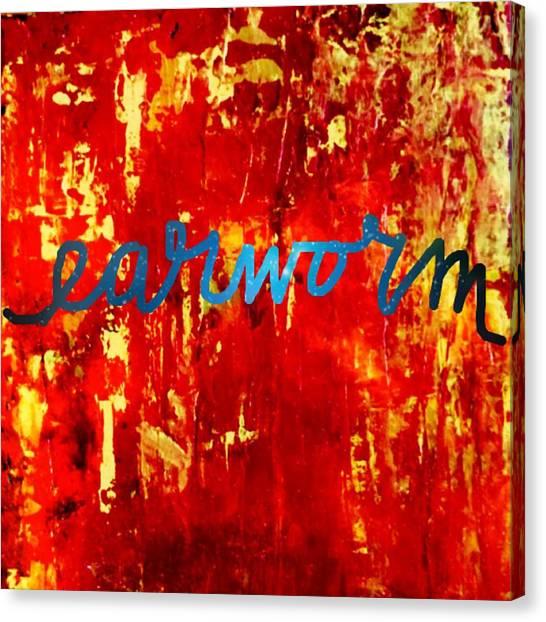 Earworm Canvas Print