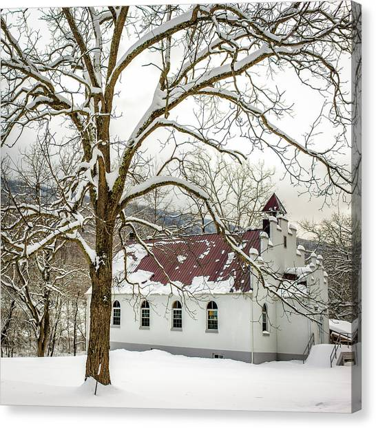East Chapel Church Canvas Print