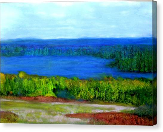 East Grand Lake Maine Canvas Print
