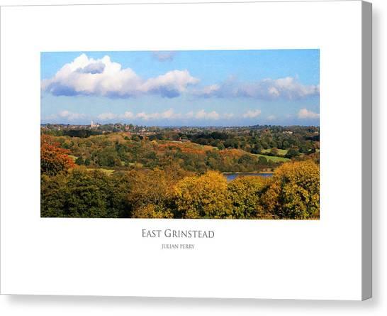 East Grinstead Canvas Print