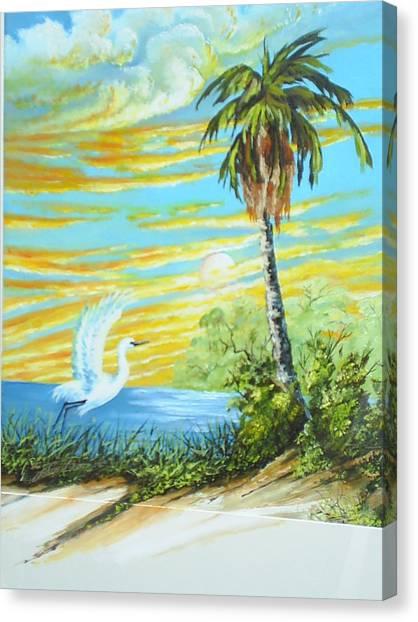 East Lake Canvas Print by Dennis Vebert
