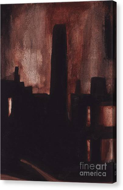 East Newark Canvas Print by Ron Erickson