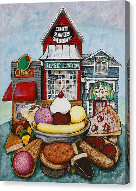 Canvas Print - East Of Eats by Rich Travis