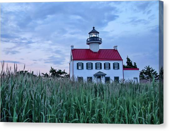 East Point At Twilight Canvas Print