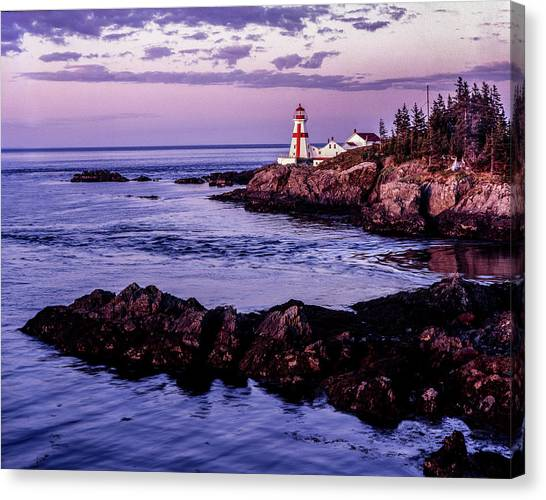 East Quoddy Head, Canada Canvas Print