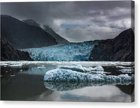 East Sawyer Glacier Canvas Print