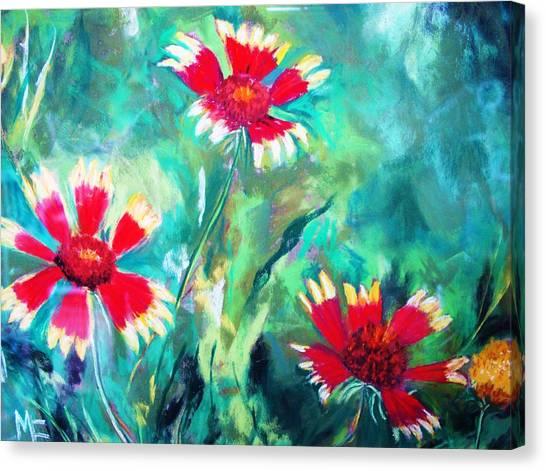 East Texas Wild Flowers Canvas Print