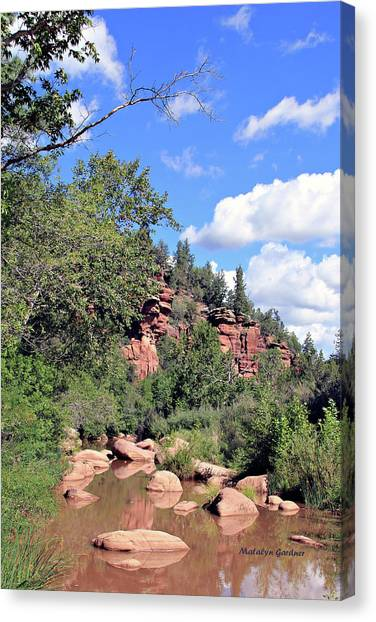 East Verde Summer Crossing Canvas Print