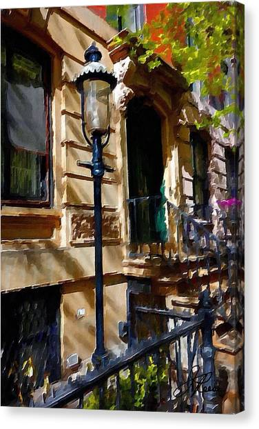 East Village New York Townhouse Canvas Print