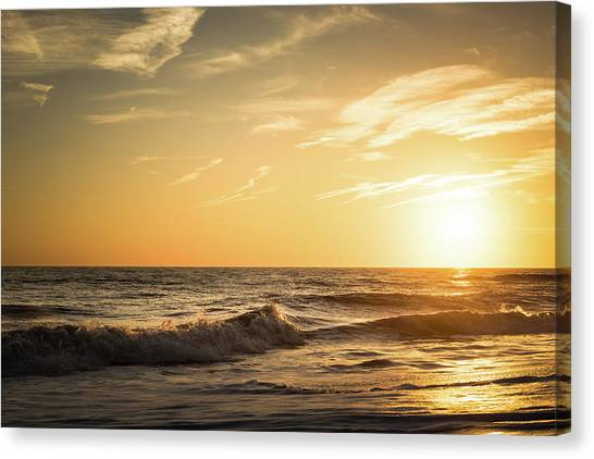 Carolina Canvas Print - Eastcoast Sunset by Ivo Kerssemakers