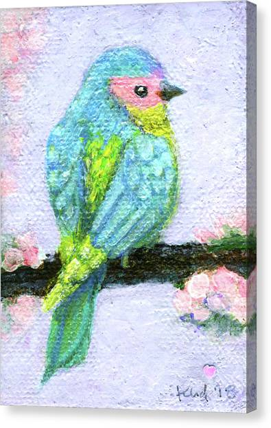 Canvas Print - Easter Bird by Kato D
