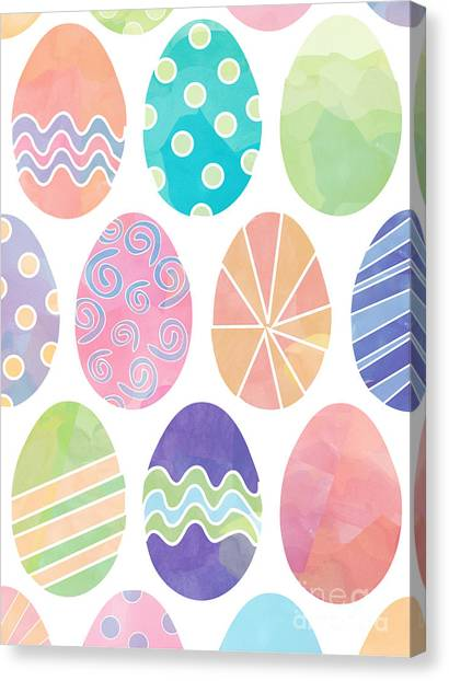 Easter Eggs 1 Canvas Print