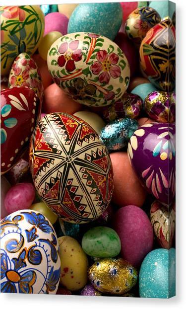 Easter Eggs Canvas Print - Easter Eggs by Garry Gay