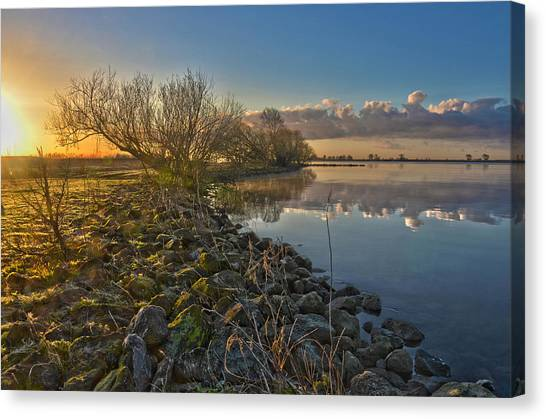 Easter Sunrise Canvas Print