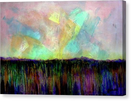 Easter Daybreak - Art By Jim Whalen Canvas Print
