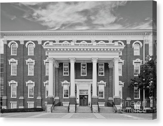 Eastern Kentucky University Canvas Print - Eastern Kentucky University Building by University Icons