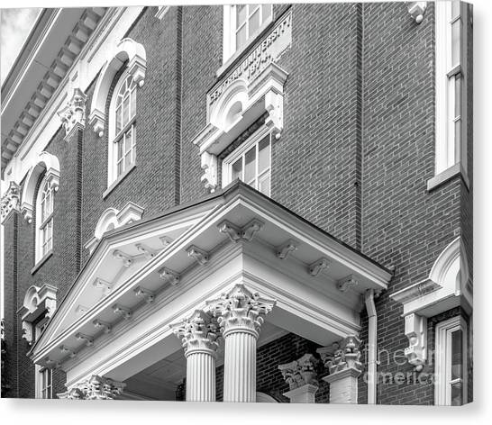 Ohio Valley Canvas Print - Eastern Kentucky University Crabbe Library Detail by University Icons