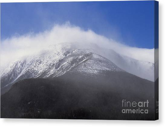 Canvas Print featuring the photograph Eastern Slopes Of Mount Washington New Hampshire Usa by Erin Paul Donovan
