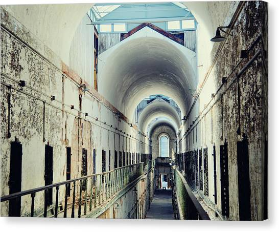 Eastern State Penitentiary Canvas Print by JAMART Photography