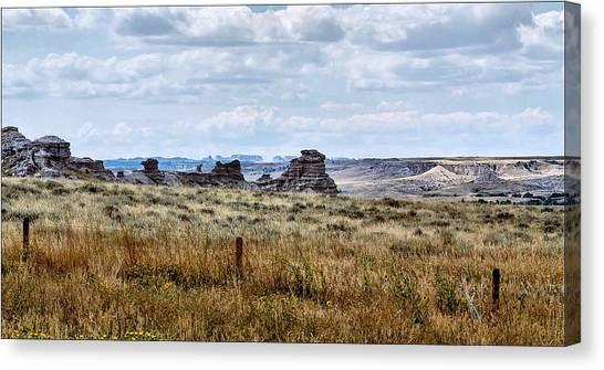 Eastern Wyoming Sky Canvas Print