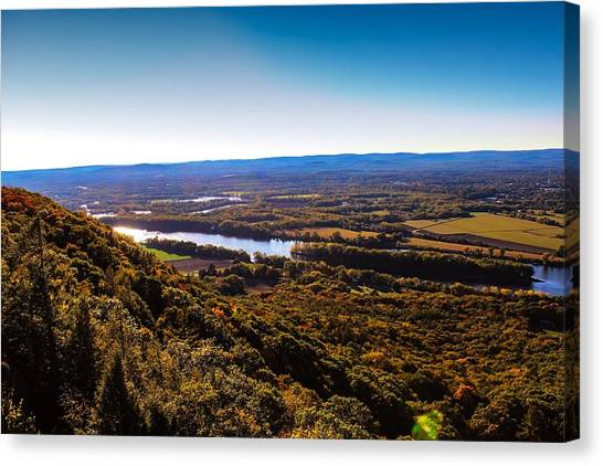Easthampton View From Summit House Canvas Print