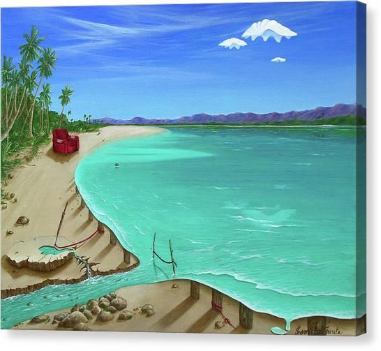 Easy Living Canvas Print by Sharon Ebert