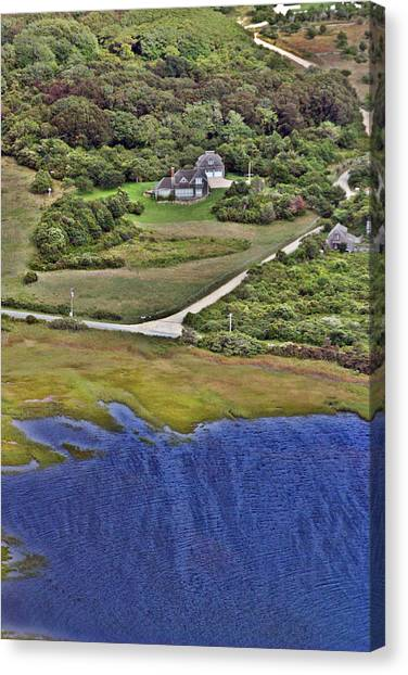 Eat Fire Spring Road Polpis Nantucket Island  Canvas Print