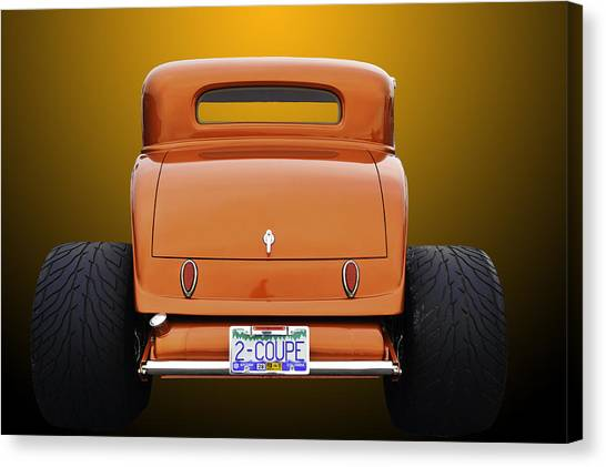 Eat My Dust Canvas Print
